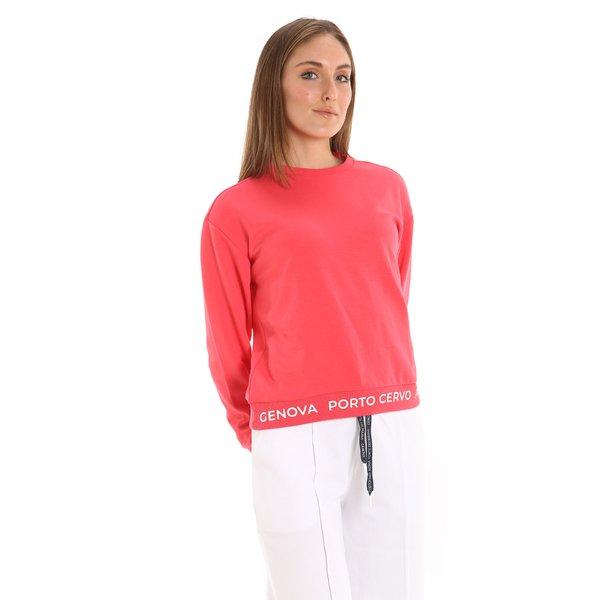 Sudadera E222 para mujer con doble interlock de algodón