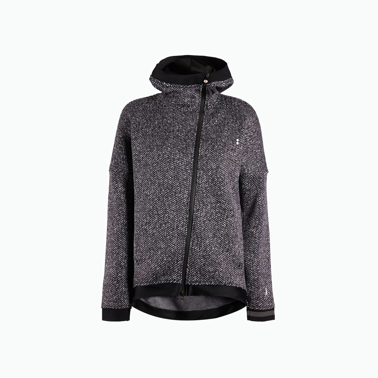 B128 Fleece - Navy / White