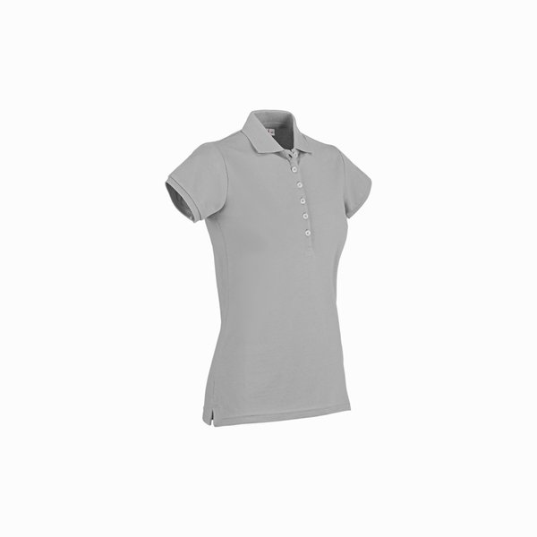 Polo donna Roseland Mc New con abbottonatura profonda
