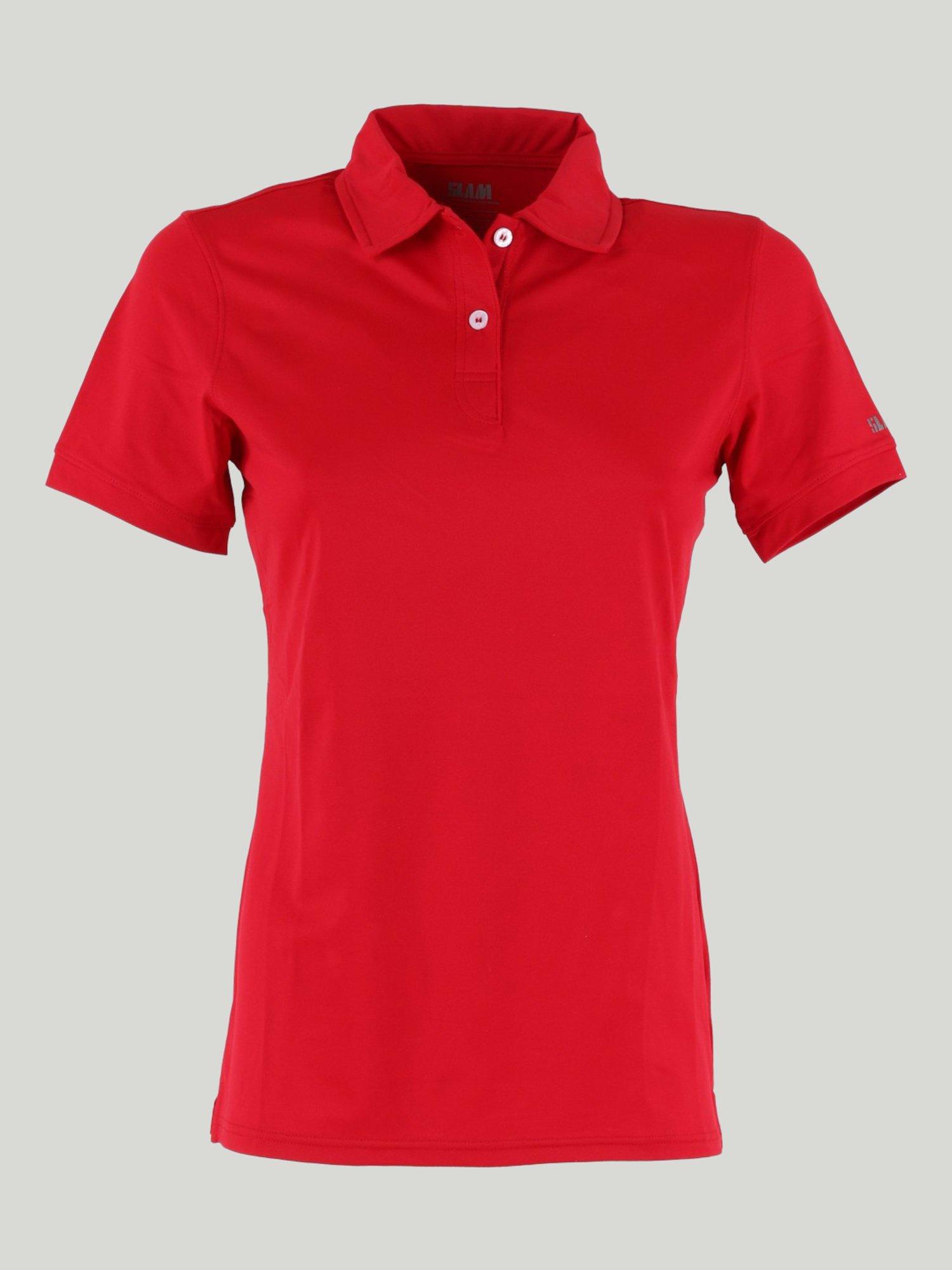 Vellan polo shirt - Slam Red