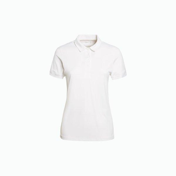 Vellan women's polo shirt in antibacterial cotton