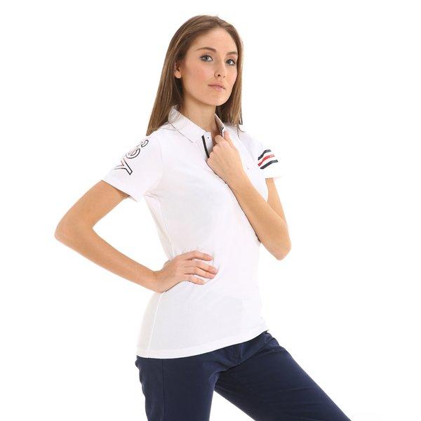 Polo donna G275 in jersey stretch elasticizzato