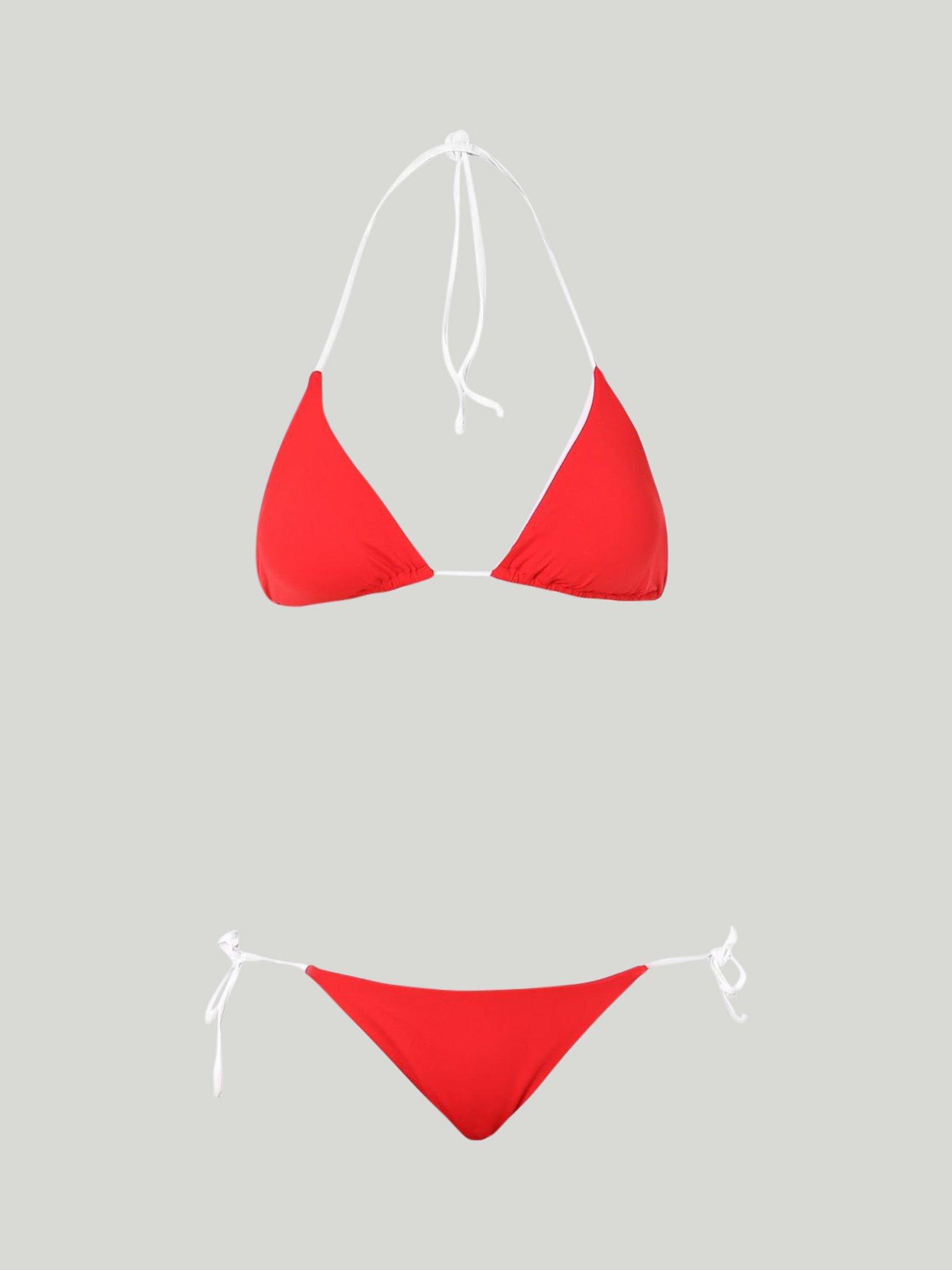 Liska bikini - Poppy Red