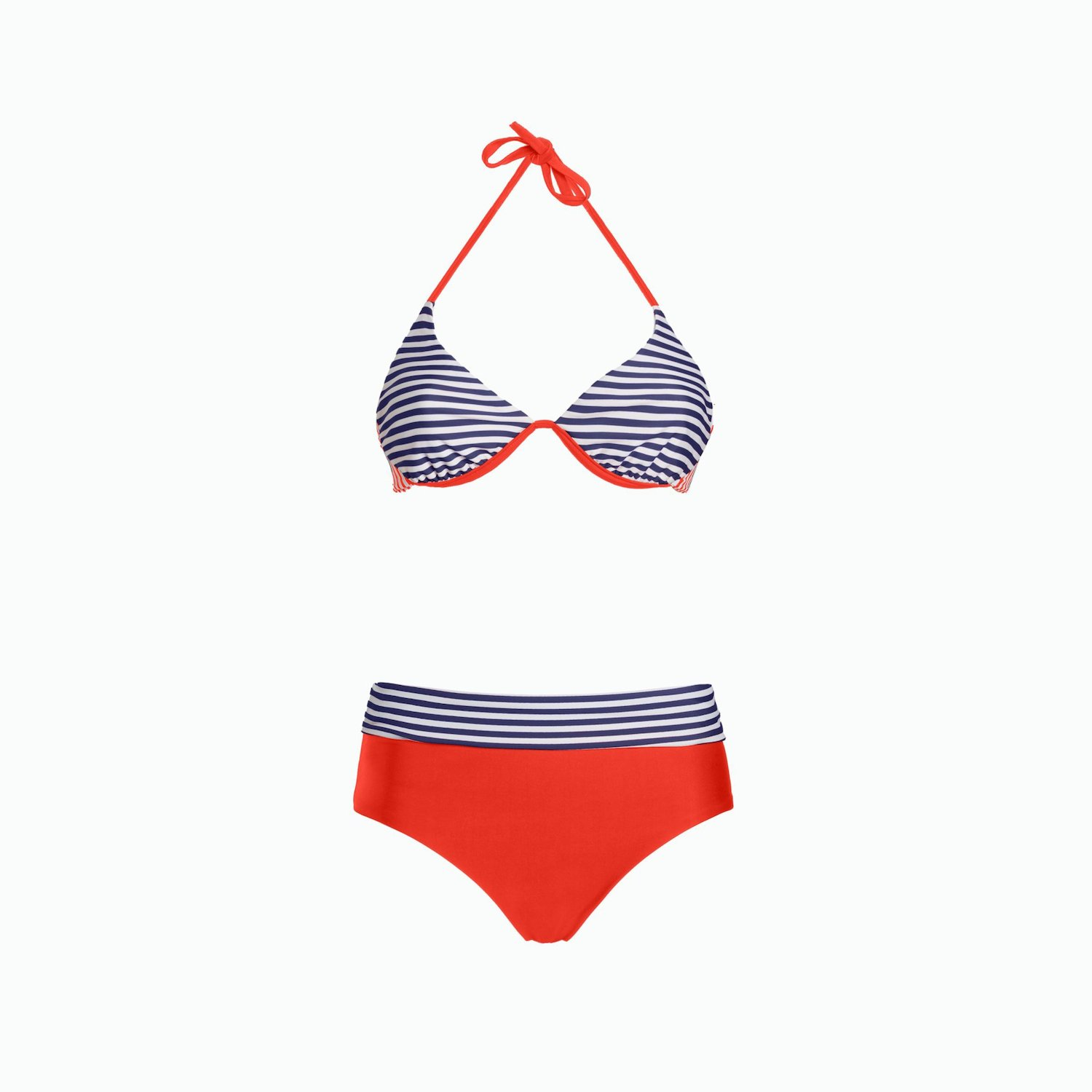 BIKINI A140 - Slam Red / White