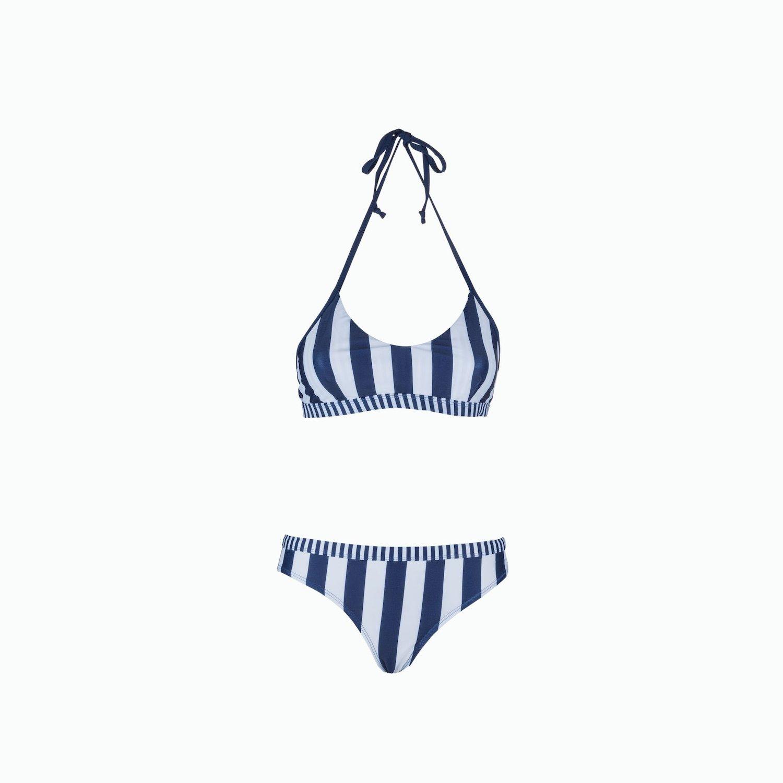 C152 Bikini - Navy / White