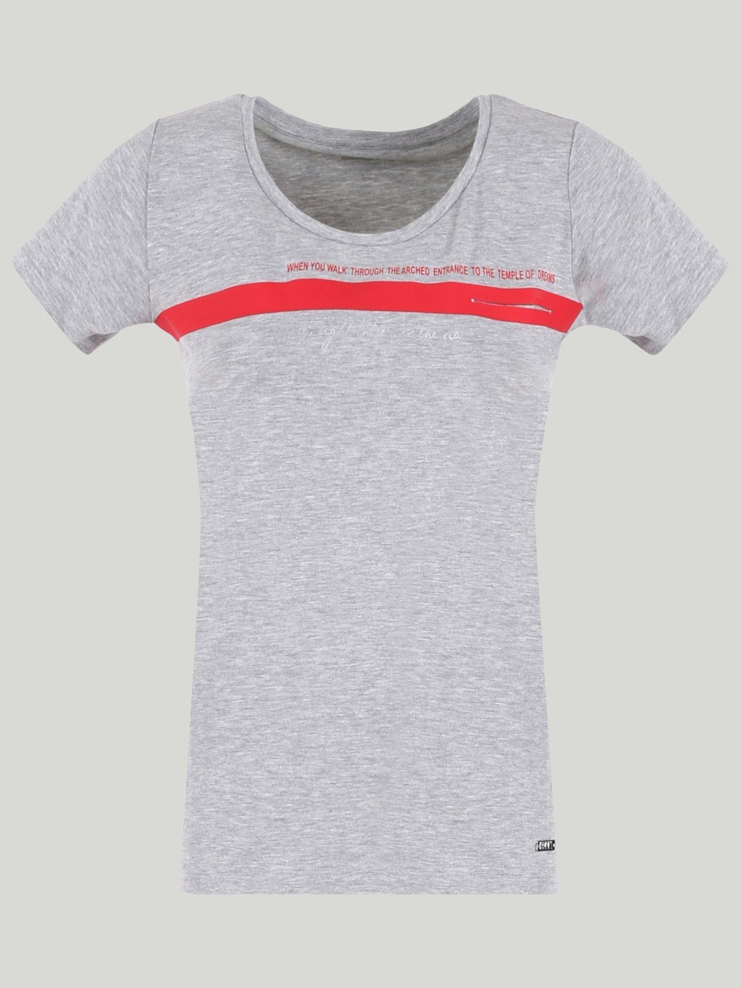 Lulabet t-shirt - Light Grey Melange