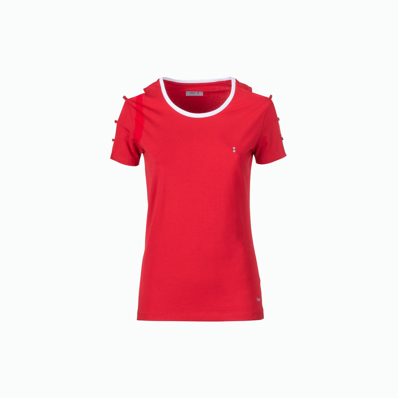 C125 T-Shirt - Rojo Slam