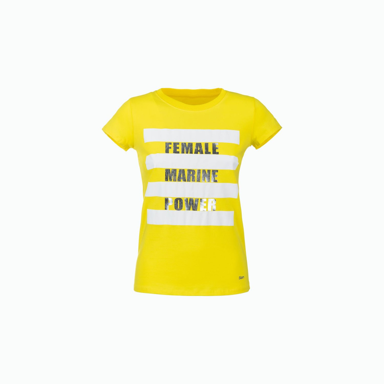 T-Shirt C184 - Giallo Sfolgorante