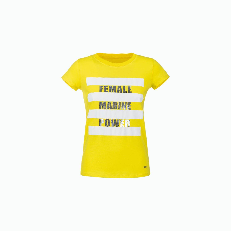 C184 T-Shirt - Leuchtend Gelb