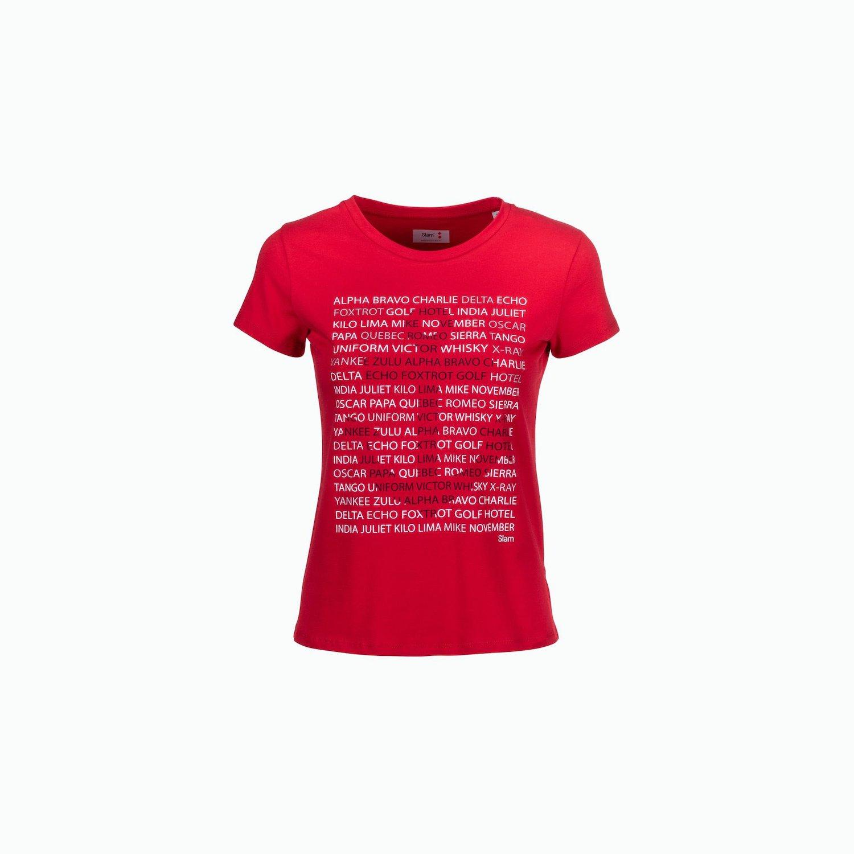 C185 T-Shirt - Rojo Slam