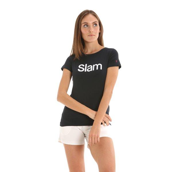 T-shirt donna D806 girocollo a manica corta in cotone