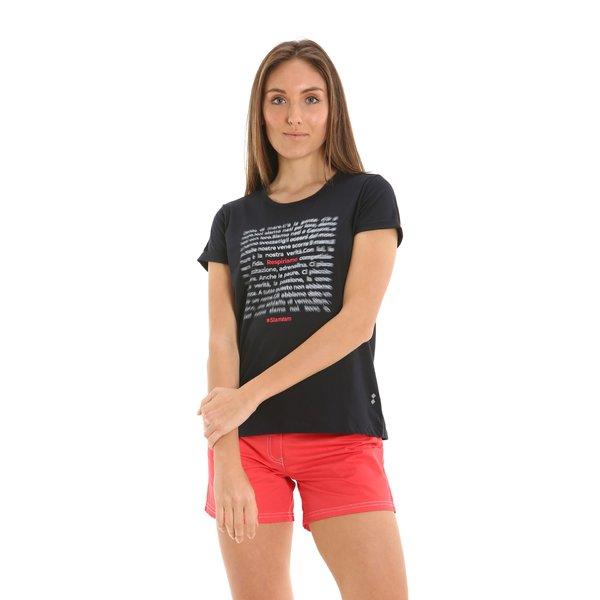 Camiseta mujer cuello caja en algodón E248