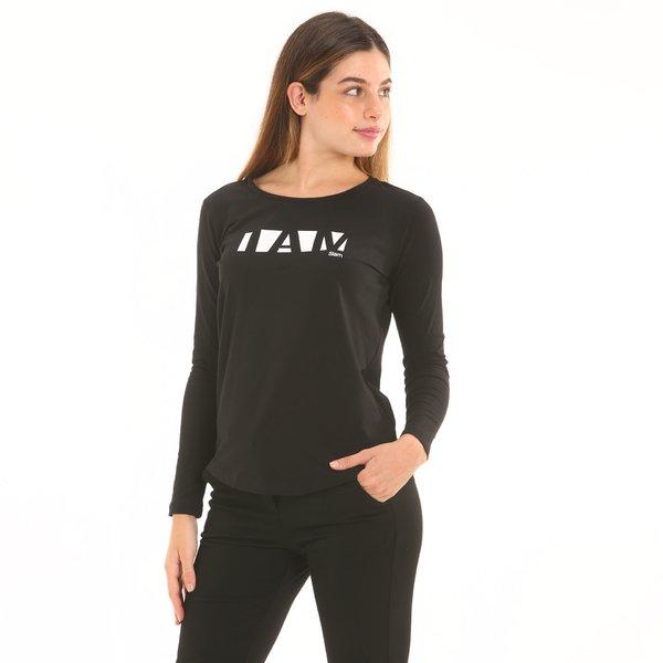 Damen T-Shirt F276 aus elastischem Baumwolljersey-Stretch