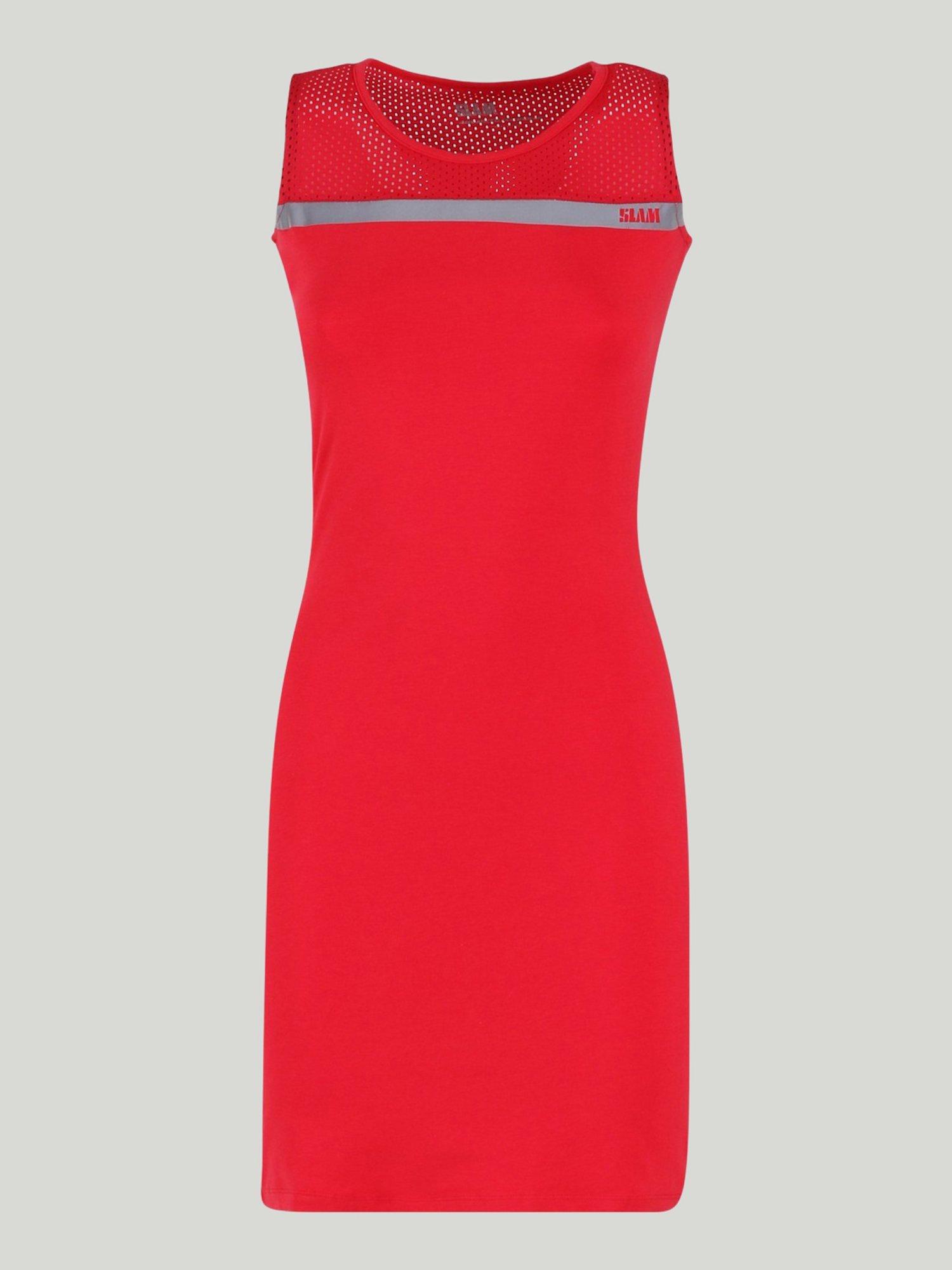 Vestido Paula - Slam Red