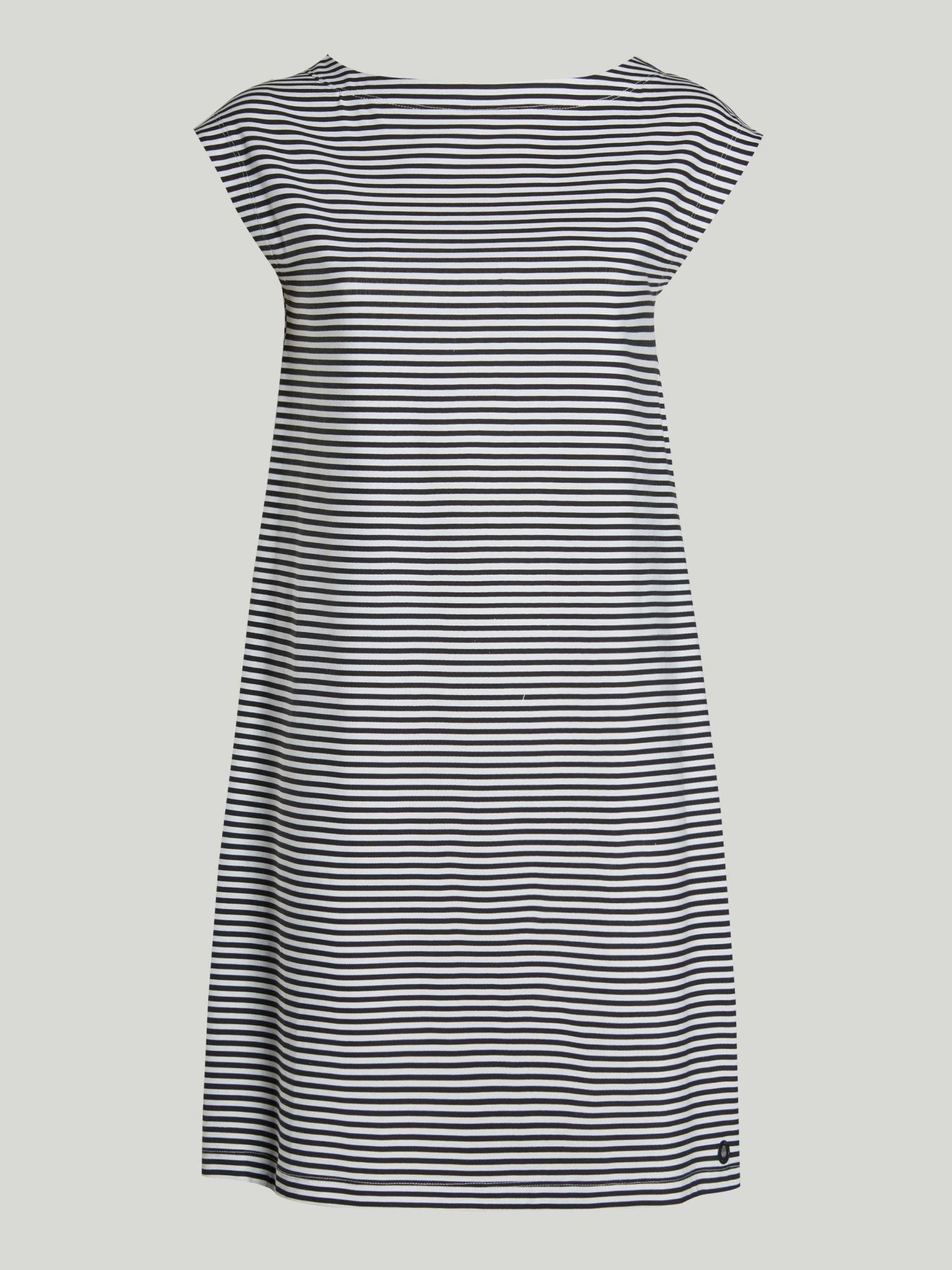 Dress A48 - Navy / White