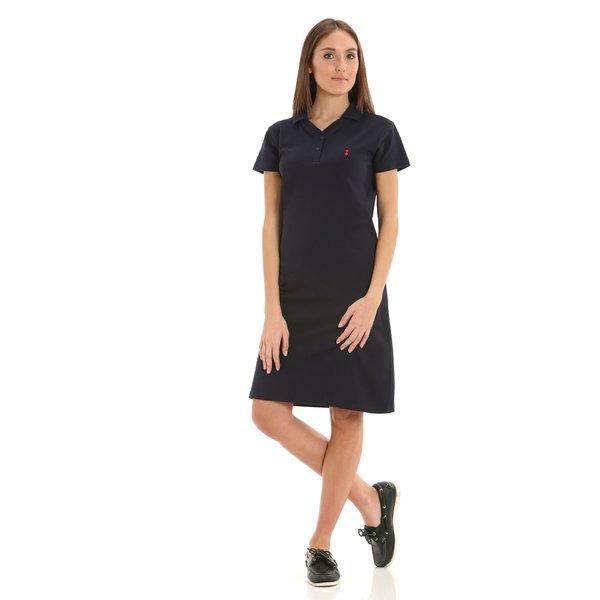 Vestido para mujer E280 en piqué de algodón 100 %
