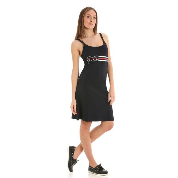 Vestido para mujer G277 estampado con motivos náuticos