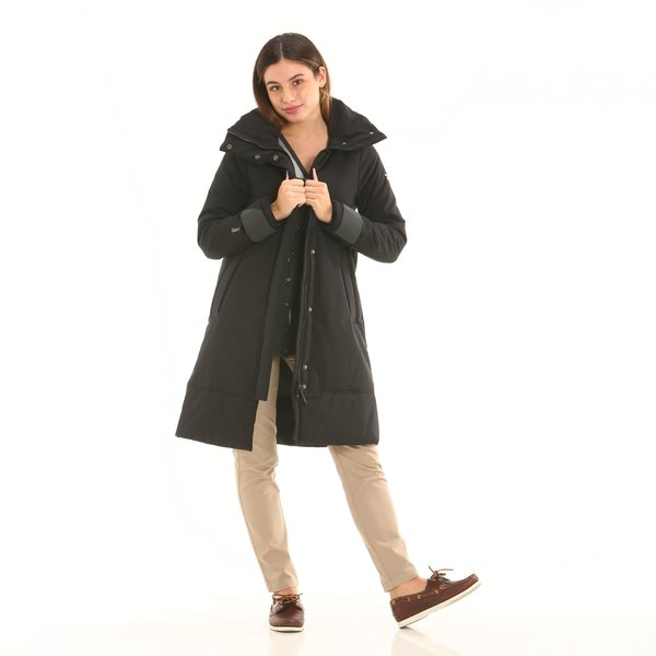 Women overcoat F201 in two-layer Maxland® polyester