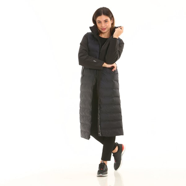 Women's overcoat F203 technical in tear-resistant nylon