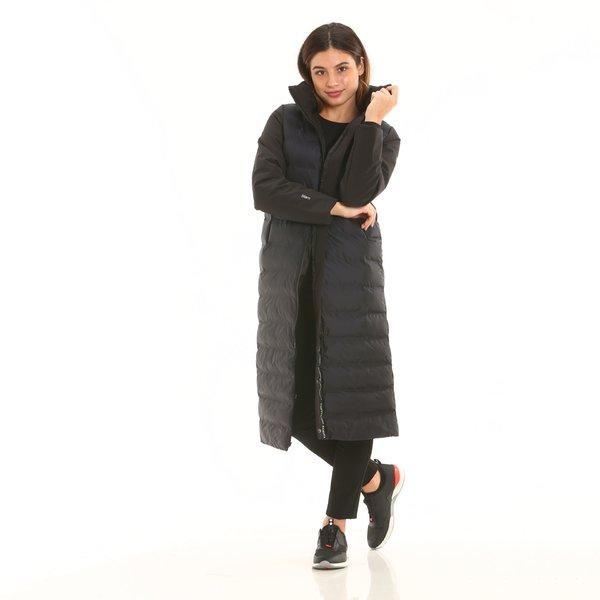 Cappotto donna tecnico F203 in nylon 5 strati antistrappo