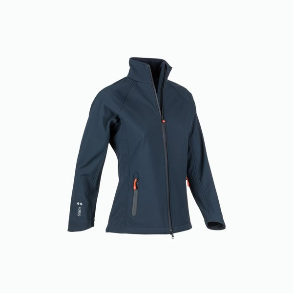 Impermeable mujer Softshell outon con forro polar