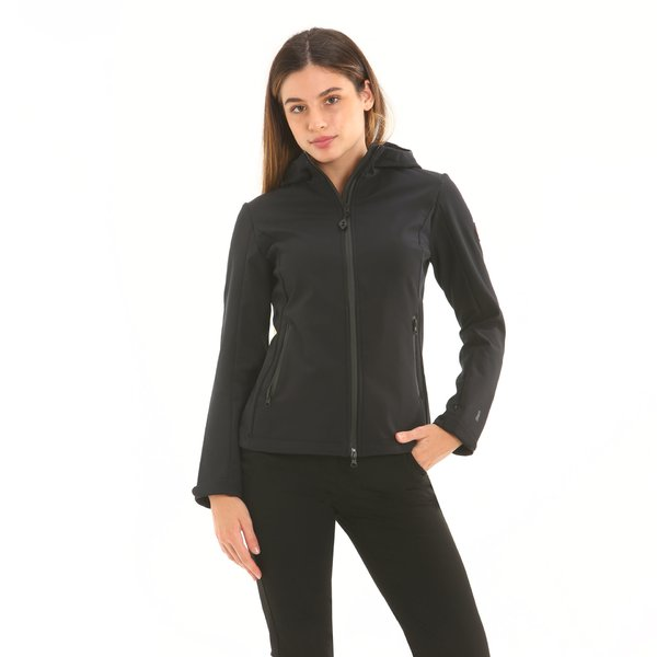 Women softshell D604 with hood