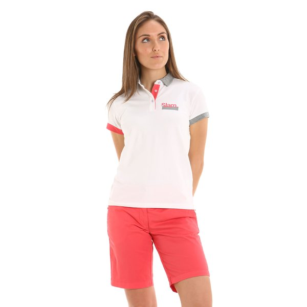 E266 women's Bermuda shorts in stretch cotton twill
