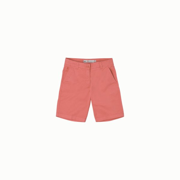 Women's bermudas in stretch cotton twill E266