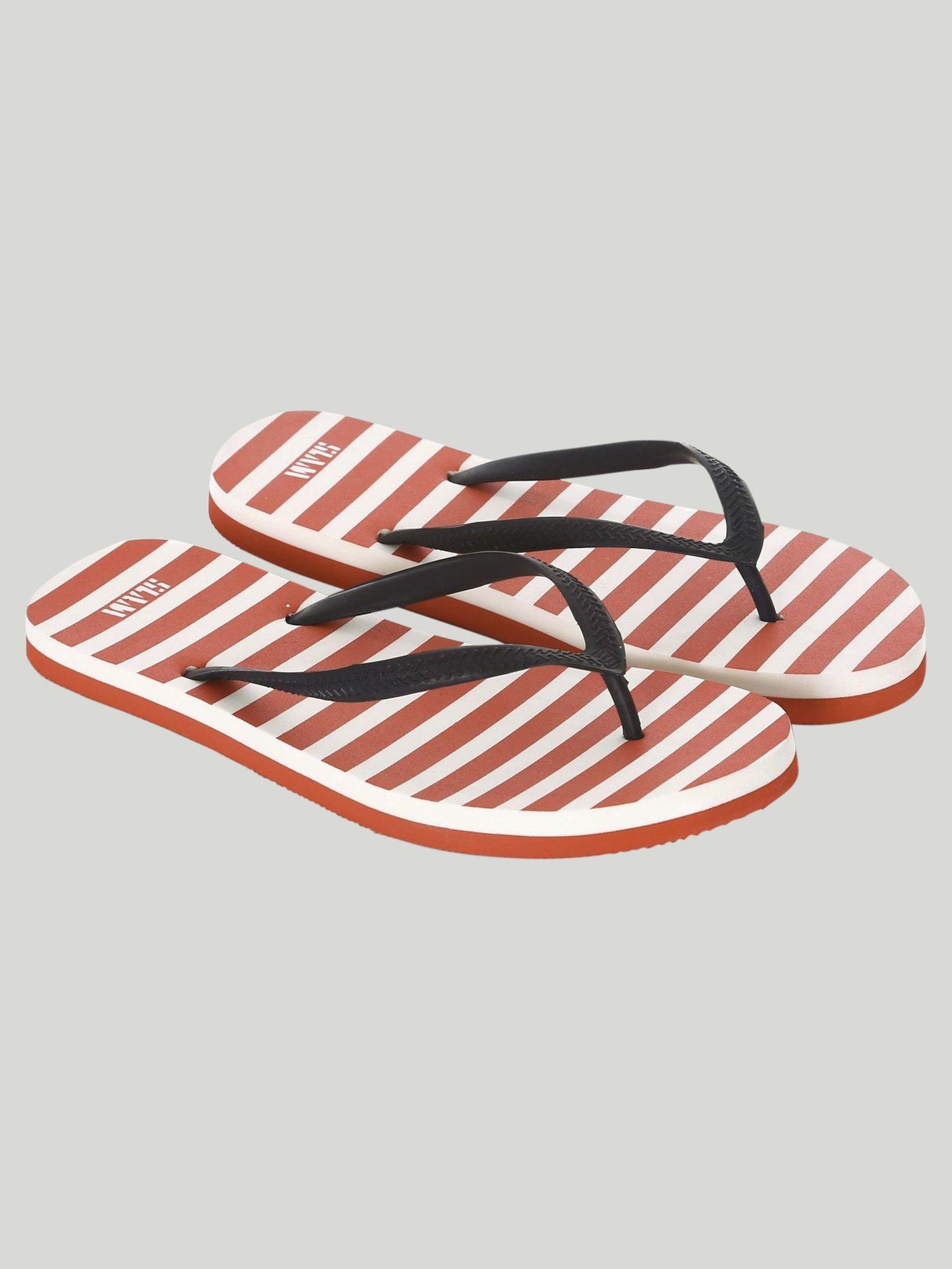 Flip-Flops Whale - Red / Weiss / Marinenblau