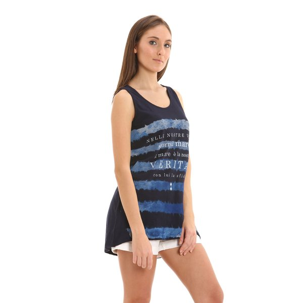 E238 women's tank top in ultralight jersey