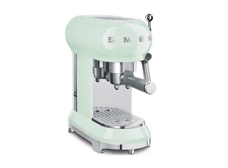Cafetera Espresso Verde agua