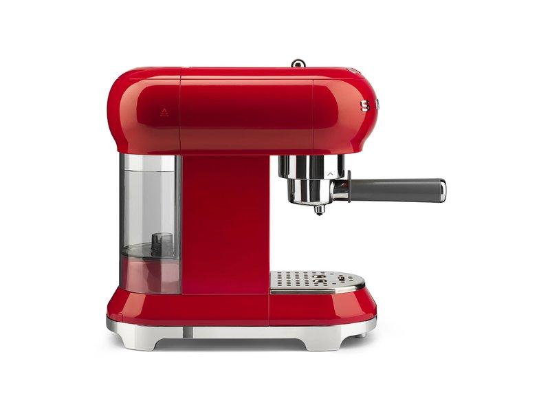 Cafetera Espresso Smeg Roja