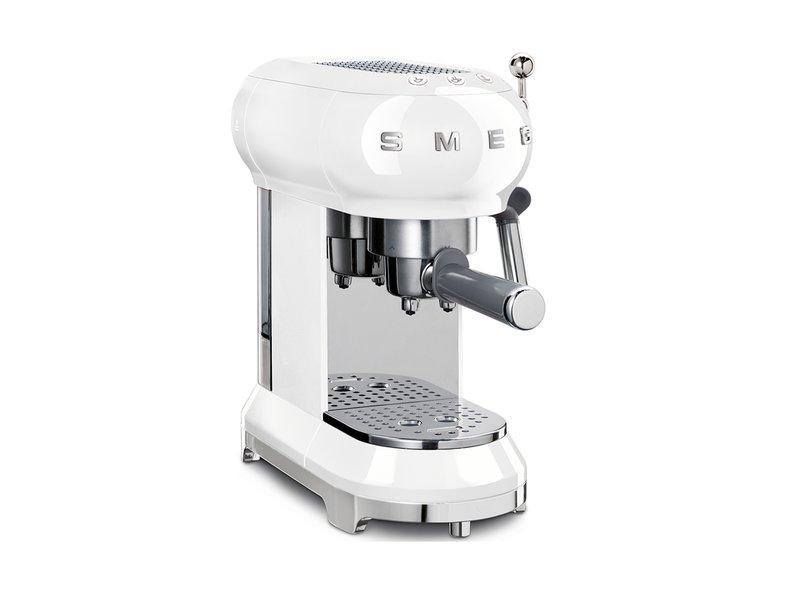 Cafetera Espresso Blanca