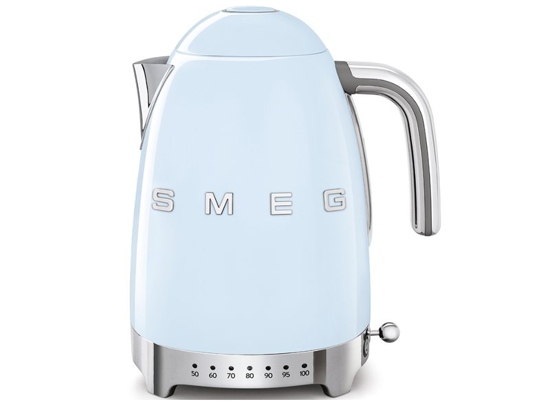Hervidor Temperatura Regulable Smeg Azul
