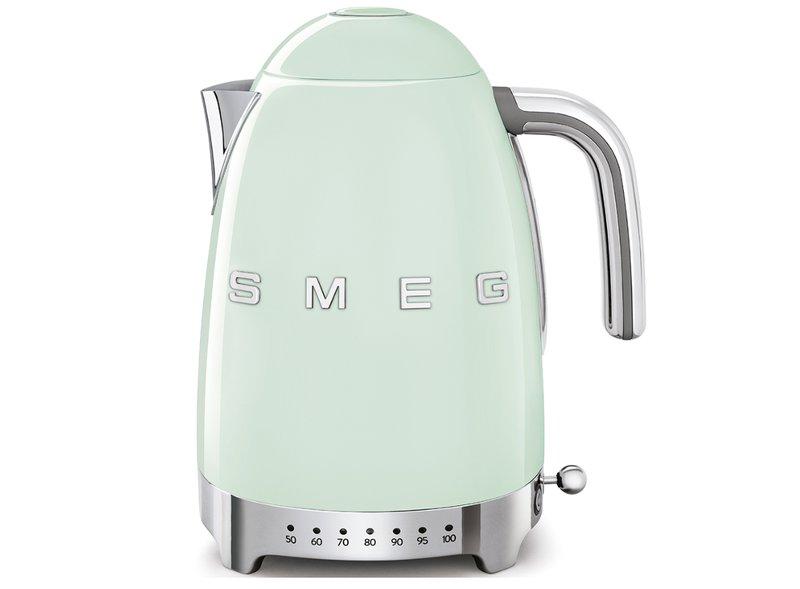 Hervidor Temperatura Regulable Smeg Verde agua