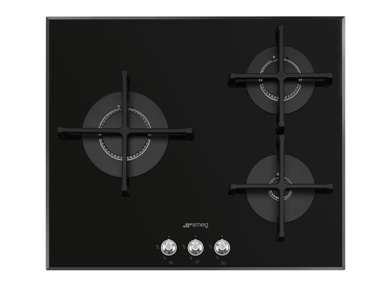 Encimera de cocción 60 cm Gas Negro PV163N2