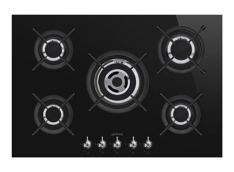 Encimera de cocción 70/75 cm Gas Negro PV375CN