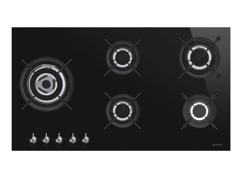 Encimera de cocción 90 cm Gas Negro PV395LCN
