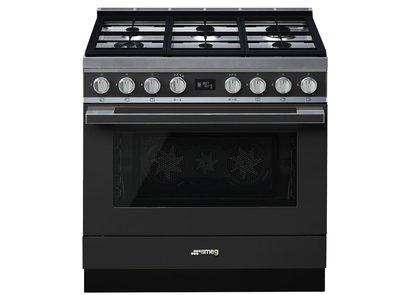 Cocina CPF9GMAN Termoventilado Vapor Clean 90x60 cm