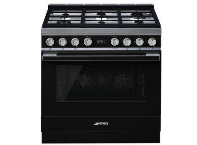 Cocina CPF9GMBL Termoventilado Vapor Clean 90x60 cm