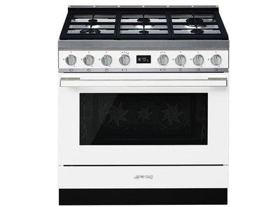 Cocina CPF9GMWH Termoventilado Vapor Clean 90x60 cm