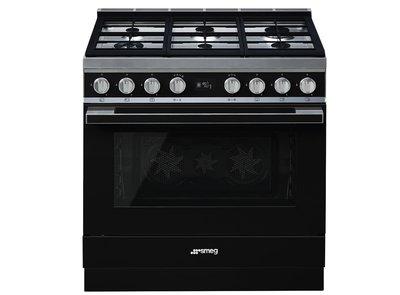 Cocina CPF9GPBL Termoventilado Pirolitico 90x60 cm
