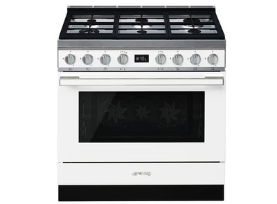 Cocina CPF9GPWH Termoventilado Pirolitico 90x60 cm