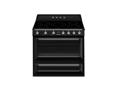 Cocina TR90IBL9 90x60 cm Termoventilado Vapor Clean