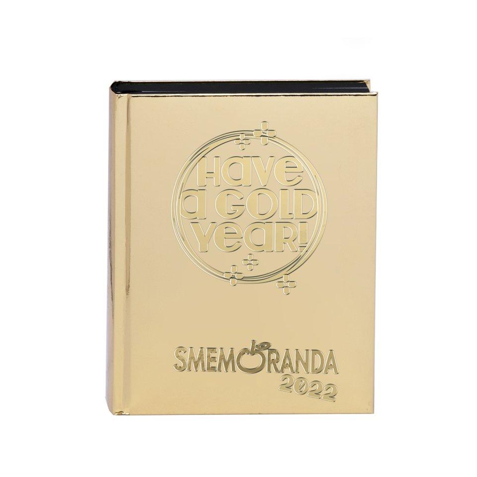 Diario Scolastico Smemo 16 mesi 2022 Gold