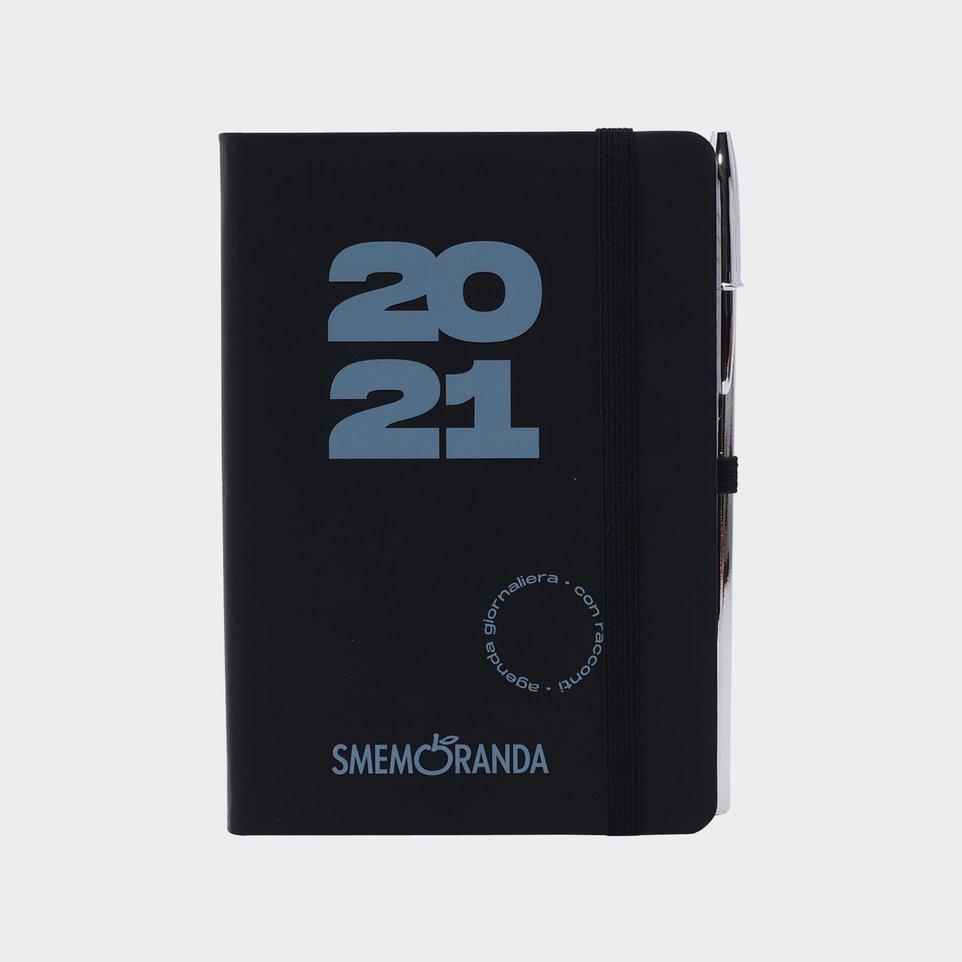 Smemoranda 12 Mesi 2021 Soft Giorn 9,8x14,3 Nera