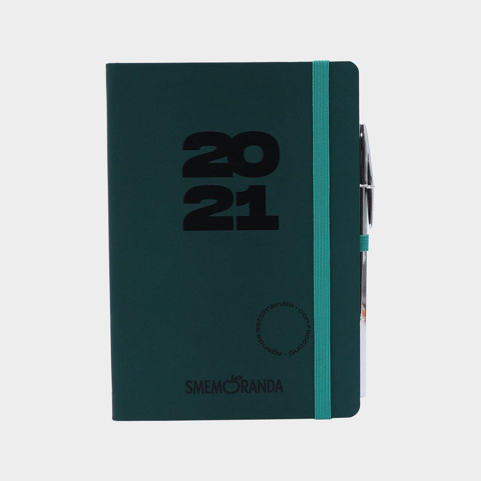 Smemoranda 12 Mesi 2021 Soft Sett 12,9x18,7 Verde