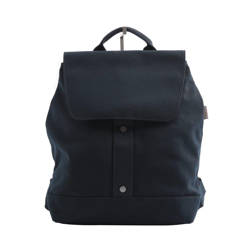 Zainetto ECO blu con chiusura magnetica e tasca imbottita porta pc/tablet