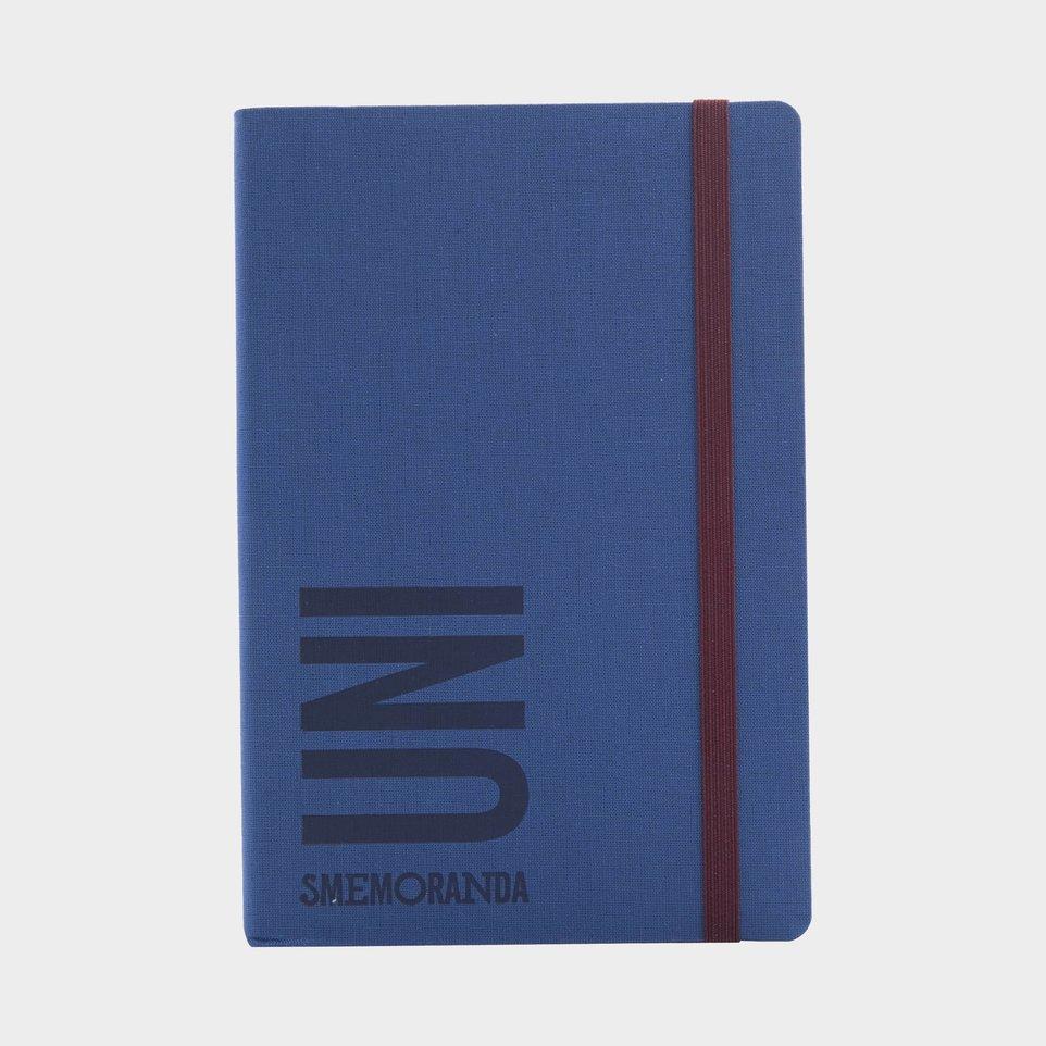 Uni Smemoranda 2021 Cm 12,5x18,5 Giorn Blu