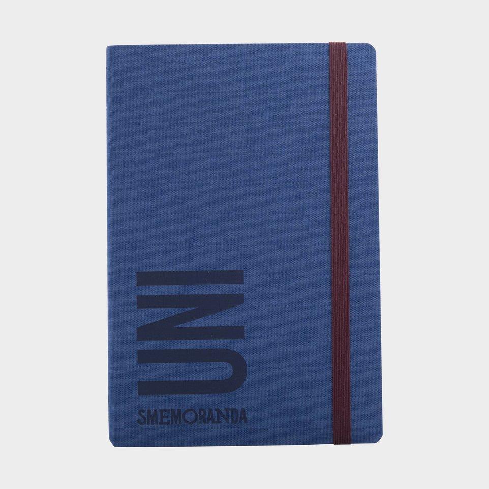 Uni Smemoranda 2021 Cm 12,5x18,5 Sett Blu